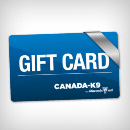 Canada-K9 Gift card