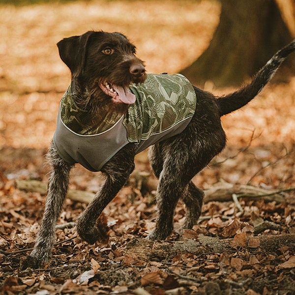 Gilet de travail Hurtta pour chien (Répulsif anti-insectes)